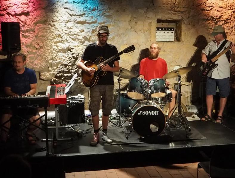 Jamsession im Rahmen des Bigband-Workshops Kofu Bad Radkersburg