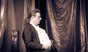 Bluamanschdandal in der Geisterbahn Theater Pantharei – Ferdinand Pregartner und Olga Kous - KUFO Bad Radkersburg